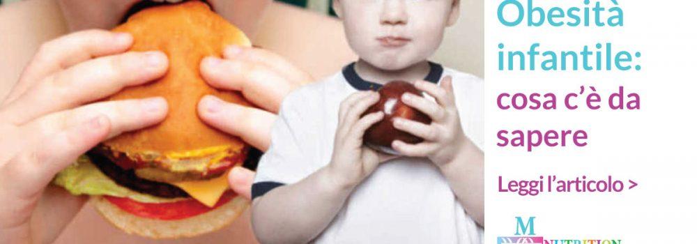Obesità infantile: un rischio per la salute in età adulta